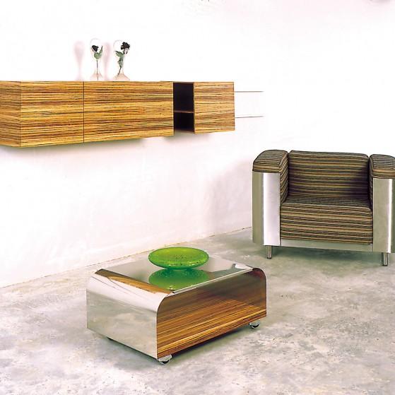 Slideboard - curve Sessel - TV-Table
